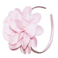 Soft Pink Flower Heanband - Reduced to $3.99 for a limited time*. Available at: http://www.mamadoo.com.au/kids-clothes/girls-clothes/girls-hats-and-accessories/ #girls #hats #accessories #hair #hairties #headbands