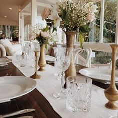 Crystal Cut Glassware   The Wedding Shed   Byron Bay Weddings