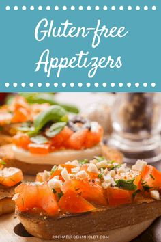 Need a few gluten-free appetizers for your next get-together, game day, or holiday gathering? Check out these delicious recipes that are also dairy-free!