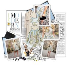 Modern Dressing by theroyalcrime on Polyvore featuring moda, RED Valentino, Gianvito Rossi, M2Malletier, Nila Anthony, Mallarino and modern