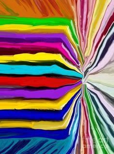 Colour Wheel Mixed Media by Chris Butler