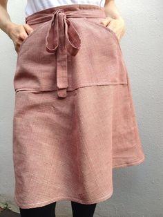 Merchant and Mills Criss Cross Handloom (Tilly and The Buttons Miette skirt)