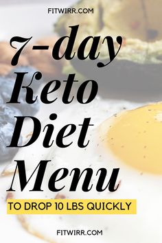 keto diet menu to lose 10 lbs quickly. Are you a keto beginner looking for a keto meal plan to start? This menu is weight loss friendly and keeps your carbs low while upping your fats to reach ketosis for fat loss and weight loss. Healthy Diet Meal Plan, Diet Meal Plans To Lose Weight, Quick Weight Loss Diet, Ketogenic Diet Meal Plan, Ketogenic Diet For Beginners, Diet Plan Menu, Keto Meal Plan, Keto Beginner, Losing Weight