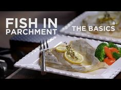How to Cook Fish in Parchment Paper - The Basics on QVC - YouTube