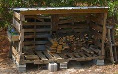 Firewood Shed/Manger - JUNKMARKET Style