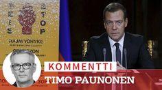 Venäjä pyyhkii Suomella pöytää – Medvedevin pakolaislinjaus kylmä suihku