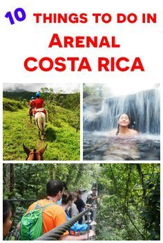 top 11 things to do in La Fortuna and Arenal, the adventure capital of Costa Rica http://mytanfeet.com/activities/things-to-do-in-la-fortuna-and-arenal/
