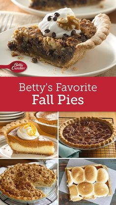 Apple, pecan, pumpkin and more of the best fall flavors shine in these new and classic pie recipes.