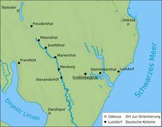 neudorf russia | In der Ukraine südwestlich von Odessa mit den Kolonien: