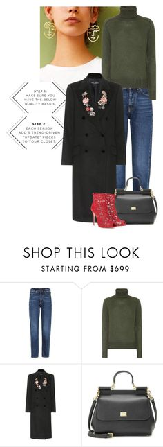 """""""Turtleneck"""" by cherieaustin ❤ liked on Polyvore featuring Yves Saint Laurent, Prada and Dolce&Gabbana"""