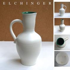 Grand pichet céramique années 50 Elchinger