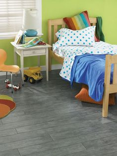 Pergo Laminate Flooring: Blue Linen Elm, this Pergo brand is supposed to be really durable - recommended by power wheelchair user