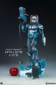 Sideshow presents the Mr. Freeze Premium Format™ Figure, a chilling new addition to your universe of DC Comics collectibles. Star Wars Poster, Star Wars Art, Lego Star Wars, Star Trek, Batman Comics, Dc Comics, Batman Drawing, Cinema, Star Wars Light Saber