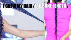 UPDATE: I Grew My Natural Hair to Tailbone Length + DIY Growth Oil