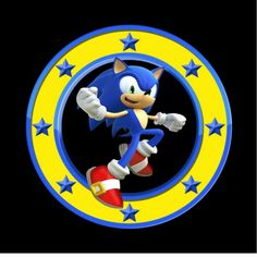 Etiqueta Sonic Sonic Birthday Parties, Sonic Party, 7th Birthday, Toddler Birthday Themes, Birthday Party Themes, Sonic Cake, Dibujos Cute, Cute Toddlers, Nursery Rhymes