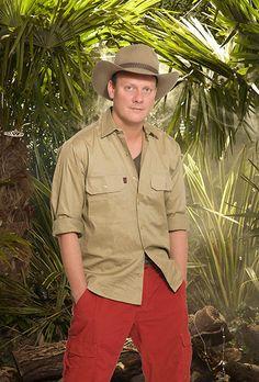 UK I'm a celebrity Jungle photo shoot Antony Cotton