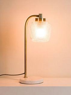Bedside Lamps Dunelm, Small Bedside Lamps, Bedside Table Lamps, Desk Lamp, Marble Desk, Marble Lamp, Marble Floor, Mesa Retro, Filter