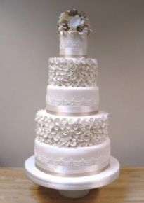 Little Venice Cake Company | Gallery | Wedding Cakes | Iced | 33 Jewel in the Crown