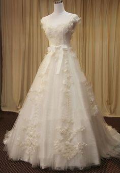 Pronovias Collect Waist Wedding Dresses - Style AGLAYA