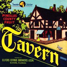 Tavern Citrus Fruits. #crateart