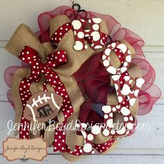 mesh tEXAS a&m wreaths | Texas A ATM Aggies Howdy Deco Mesh Wreath by Jennifer ... | Texas A ...