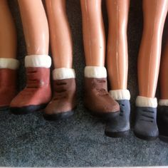 Busy making shoes for Tree Change Dolls! #treechangedolls #soniasingh #makeunder