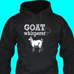 """Goat whisper"" sweatshirt #babygoatfarm"