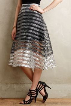 Erin Fetherston Pizzicato Midi Skirt #anthroregistry