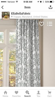 Chapter Sixteen. Living Room Curtains.