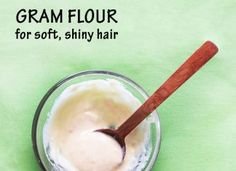 Beauty with Gram flour – besan for beautiful skin and hair