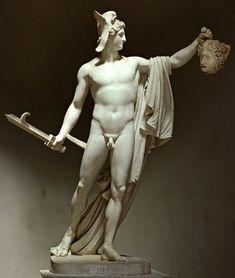 Antonio Canova – Perseo con la testa di Medusa, 1797-1801, marmo, altezza cm 235, Museo Pio Clementino, Musei Vaticani, Roma.