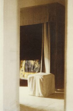 and the the man, himself:   Cy Twombly's Photographs of Interiors:...