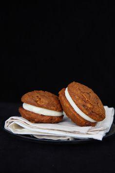 Vaikai ir Vanilė: Moliūginiai pyragėliai – suvožtiniai (whoopie pies)