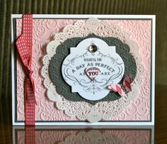 Hi Stampin' Friends! Today I had so much fun stamping with my Spring Stampin' Club gals. We always have such a great time together!! A cou...