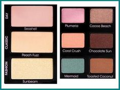 "Colours of ""Summer Eyes"" by Too Faced"