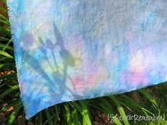Rainbow Ice Cube Painting