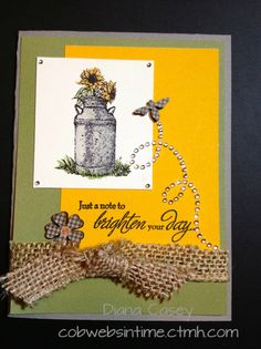 Close To My Heart (CTMH) Scrapbooking; Stamping Products; Ideas with CTMH consultant Diana Casey