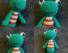 Jucărie croșetată - Broscuta Dinosaur Stuffed Animal, Toys, Animals, Fictional Characters, Art, Fine Dining, Activity Toys, Art Background, Animales
