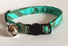 Cat Collar  Handmade  Amy fabric design by ItsAlicesImagination