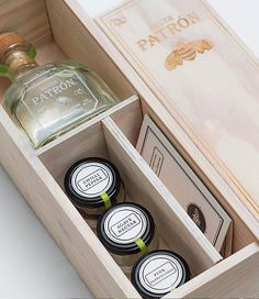 Patron Gift Packaging Design