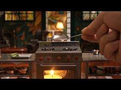 Miniature Food#46 たい焼き/붕어빵 - Cooking/How to make fish-shaped pancake - YouTube