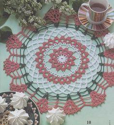 Adorables petits napperons , fleuris et colorés , trouvés dans la Galerie Picasa de & Katherine Zara & , avec ses grilles gratuites ! Clic sur les grilles pour les agrandir   Partage de modèles gratuits , trouvés sur le net . Tout l'univers de bébé autour...