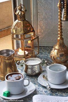 Turkish coffee - I love Nyla's 'Middle Eastern Food' board.. beautiful! - http://www.pinterest.com/nyladade/middle-eastern-food/