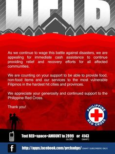 Red Cross #RescuePH #ReliefPH
