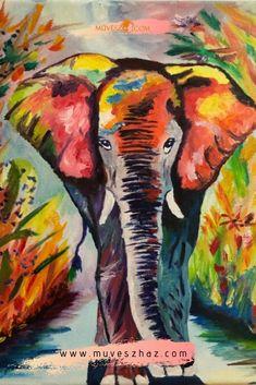 Kreatív feladatok gyerekeknek: 9 év tapasztalata alapján összeállítottunk Nektek egy olyan egyszerű és könnyen követhető tanfolyamot, aminek a segítségével könnyedén készítitek el gyermekeddel ezt a festményt. Mindig változó témában, könnyen elkészíthető képek. Watercolor Art, Halloween, Painting, Bricolage, Watercolor Painting, Painting Art, Paintings, Watercolour, Painted Canvas