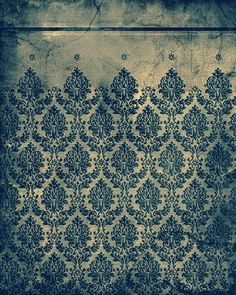 Wallpapers, Backrounds & Textures ~ Vintage Victorian Grunge by Myruso Pretty Patterns, Color Patterns, Design Baroque, Inspiration Wand, Color Inspiration, Grunge, Victorian Wallpaper, Decoration Design, Of Wallpaper
