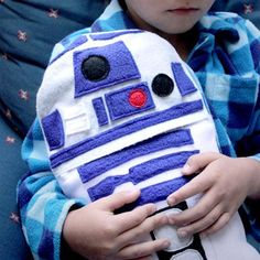 R2-D2-Inspired Hot Water Bottle Cover | Spoonful
