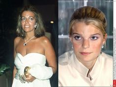 Christina Onassis and her daughter Athina (Onassis) Roussel de Miranda.
