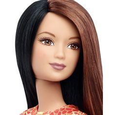 Barbie® Fashionistas™ 41 Pretty in Paisley Doll & Fashions - Petite  - Shop.Mattel.com