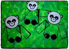 panda, animaux, chine